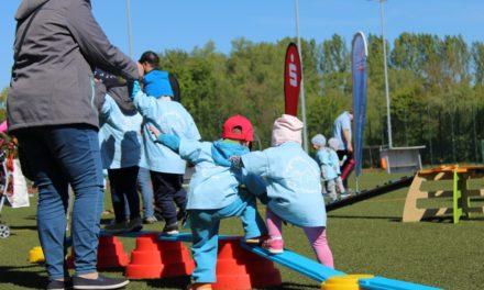 Sportliche Vorschulkinder im Landkreis NWM