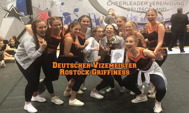 Rostock Griffiness wollen als Deutscher Vizemeister zur Europameisterschaft