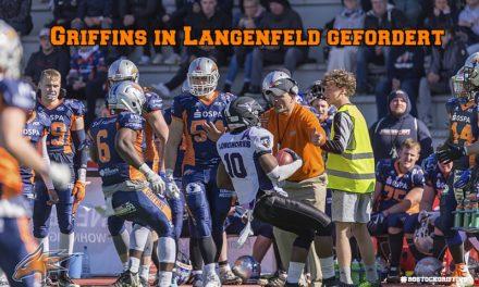 Griffins bei den Longhorns gefordert