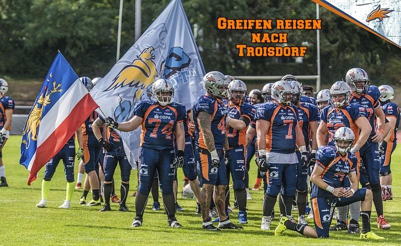 Griffins reisen zum Saisonstart nach Troisdorf