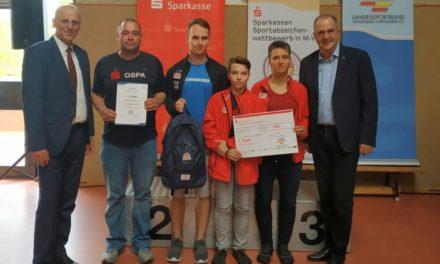 Sparkassen – Sportabzeichen-Wettbewerb in M-V