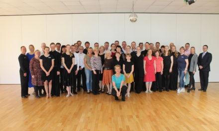 Abnahme Deutsches Tanzsportabzeichen 2019 im OTG