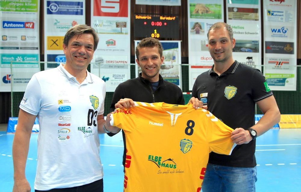 Handballstiere verpflichten neuen Goalgetter
