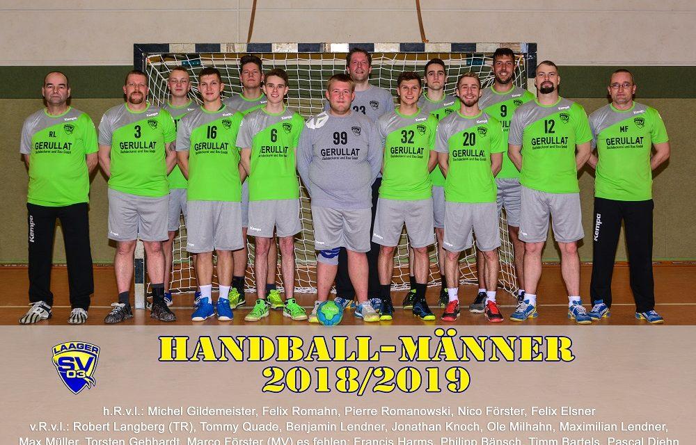 Handball Männer 2018/2019