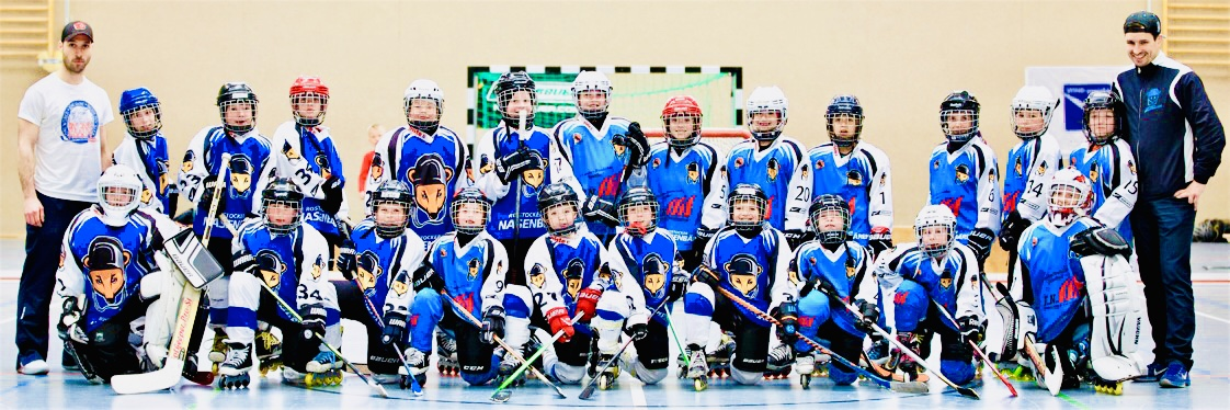 Inline Hockey in Mecklenburg-Vorpommern: Das Bambini-Team der Nasenbären © 1. IHC Rostocker Nasenbären e.V.