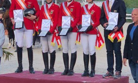Christin Wascher gewinnt Nationenpreis Junge Reiter