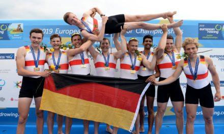 Deutschlands Junioren räumen bei Ruder-EM ab