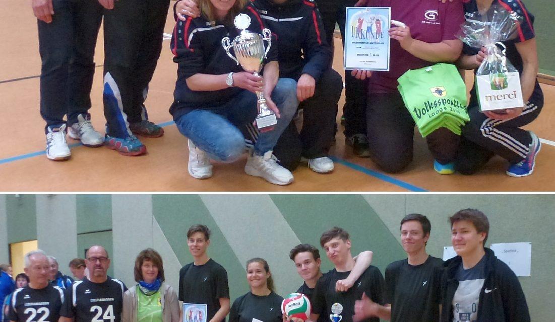 Volleyball am Volkssporttag in Laage