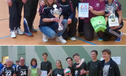 Volleyball am Volkssporttag in Laage