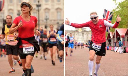 Der London Marathon – Ehepaar aus Teschow mittendrin