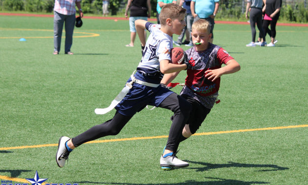 Blue Stars Junior Flags holen erste Saisonsiege