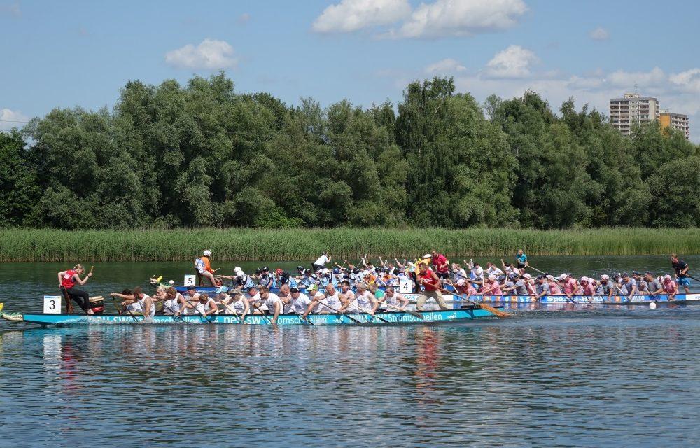 Wassersport-Spektakel am Reitbahnsee