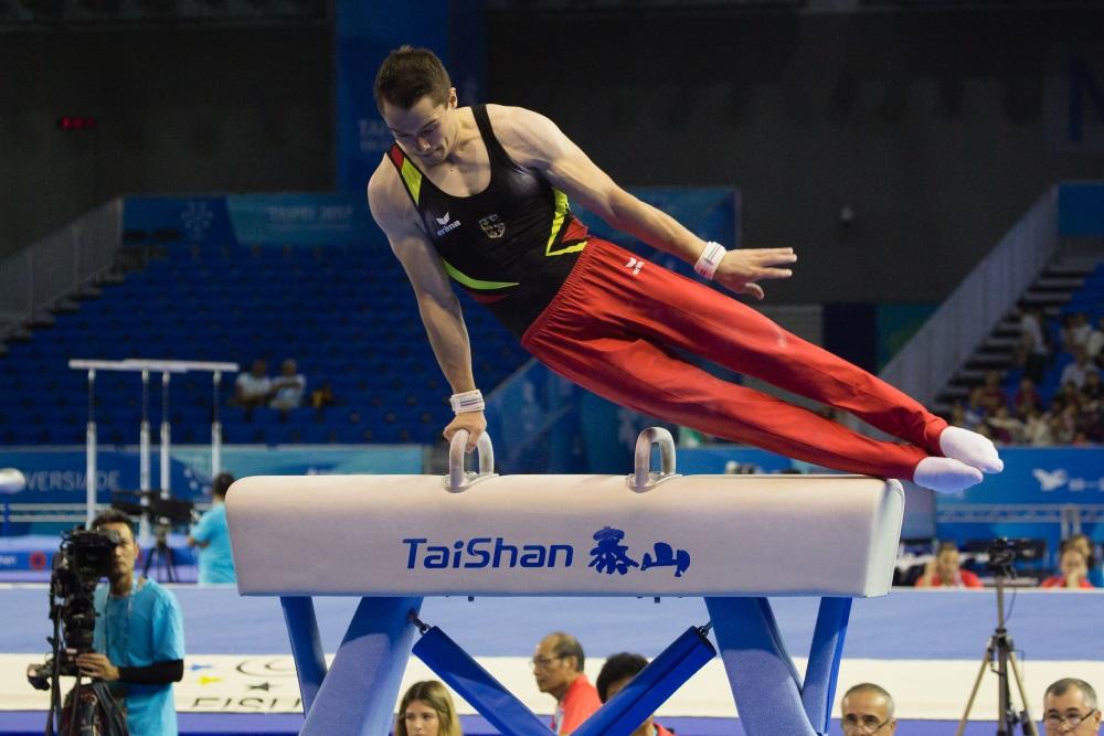 Gerätturnen bei der Universiade in Taipeh 2017 - Foto: © adh / Arndt Falter