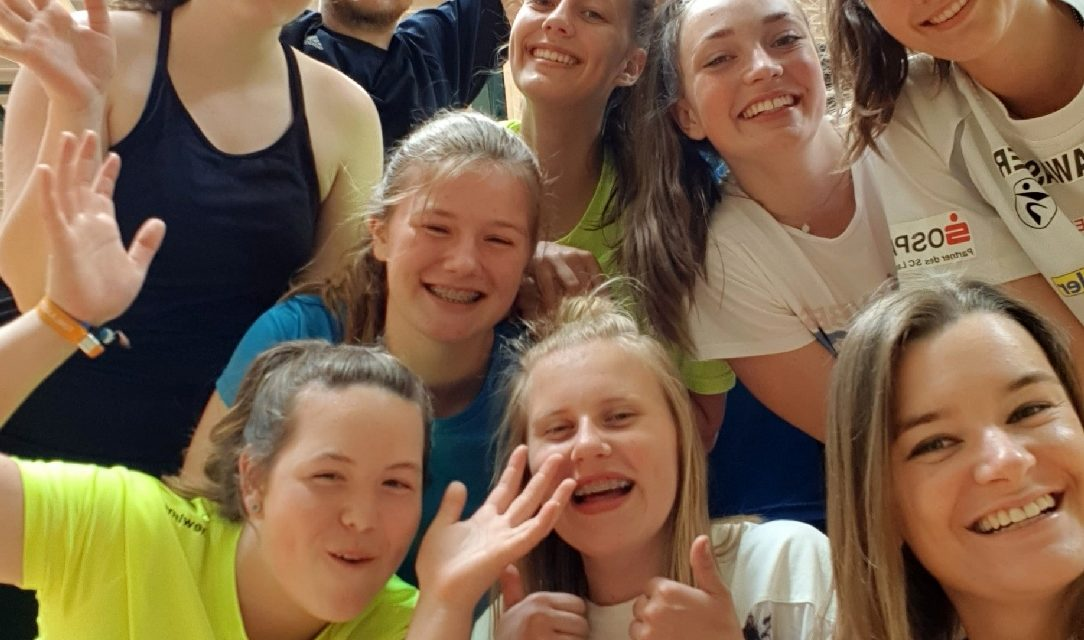 Erstes Trainingslager der U16-Volleyballmannschaft war voller Erfolg