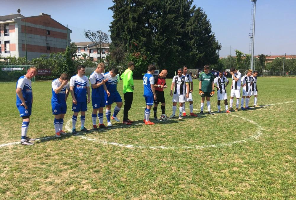 Mit der Kogge auf der Brust zu Gast in Turin: Die Inklusionsmannschaft des F.C. Hansa Rostock | Foto: © F.C. Hansa Rostock