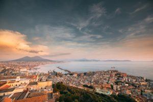 Skyline von Neapel