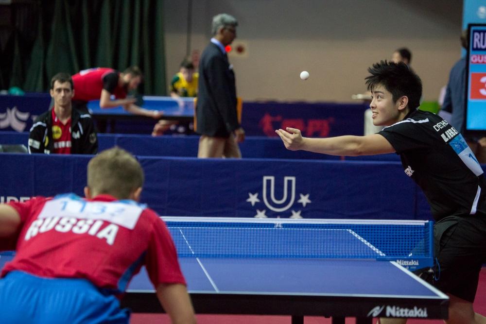 Impression vom Tischtennis bei der Universiade 2017 in Taipeh - Foto: © adh / Arndt Falter