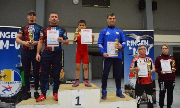 Greifswalder Ringer gewinnen ihren Boddenpokal