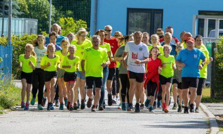 25- Stundenlauf bewegte Menschen nicht nur sportlich