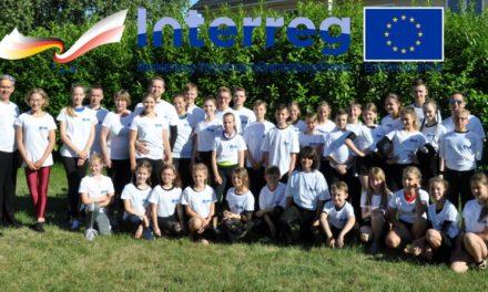 Junge Tanzsportler im deutsch polnischen Trainingscamp