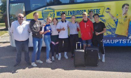 51 M-V-Sportler*innen auf dem Weg zu den XI. Baltic Sea Youth Games 2019 nach Karlstadt in Schweden