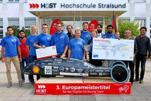 Das Gewinner-Team ThaiGer der Hochschule Stralsund.