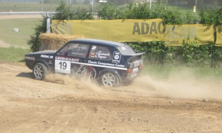 Einziges Mecklenburger Rallyeteam siegt am Bergring