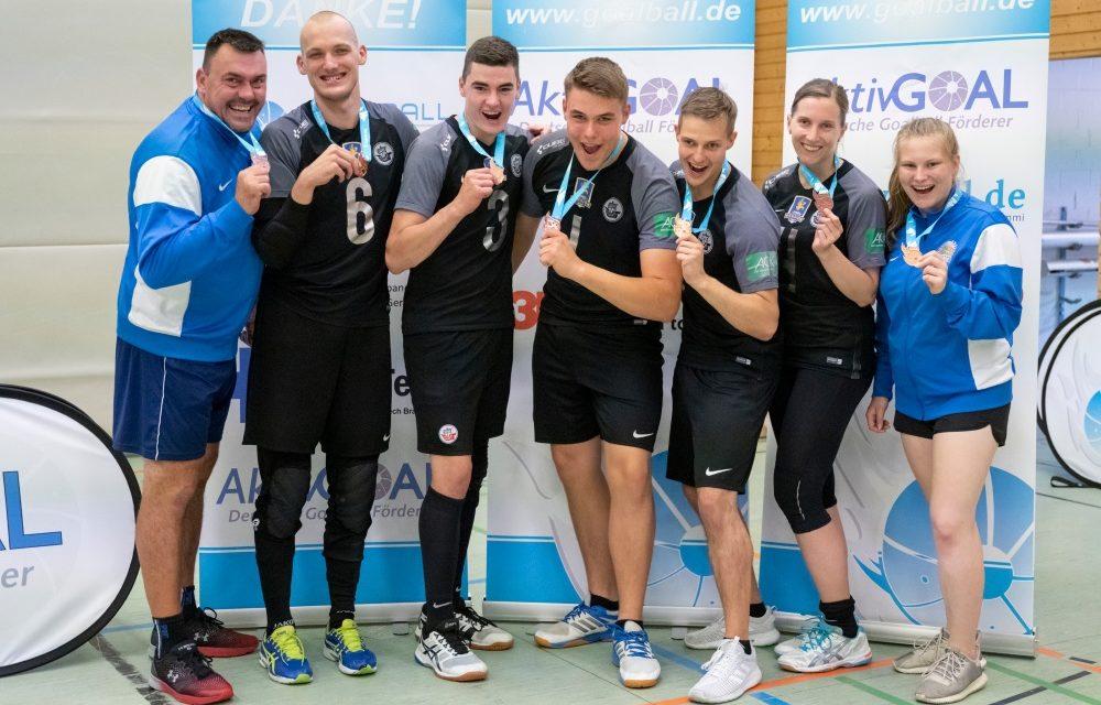 Goalballer triumphieren in der Bundesliga und holen Bronze