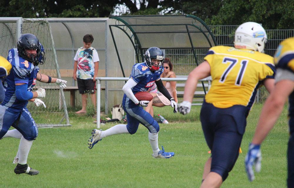 Blue Stars schlagen die Brandenburg Patriots im Hin- und Rückspiel