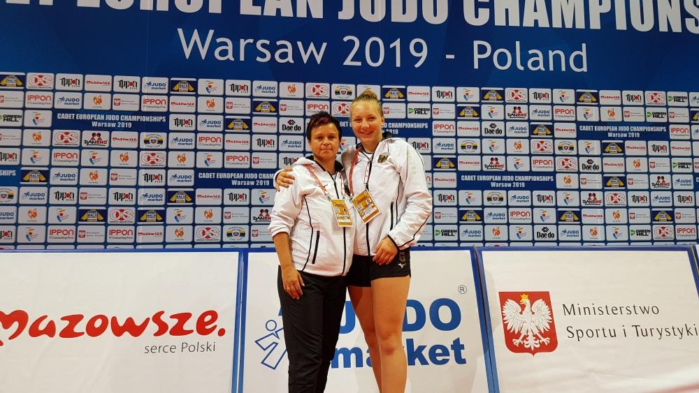 Tia Scheerat erkämpft 7. Platz bei U18-EM