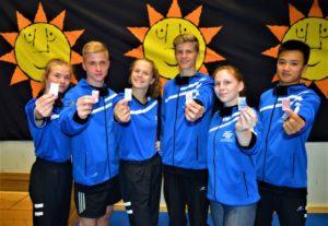 Ringer des Ringerverband MV bei den Baltic Youth Games