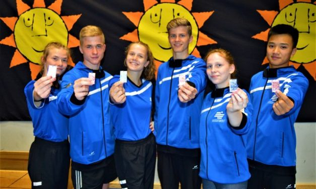 Landesauswahl mit 6 Medaillen bei den Baltic Games in Schweden
