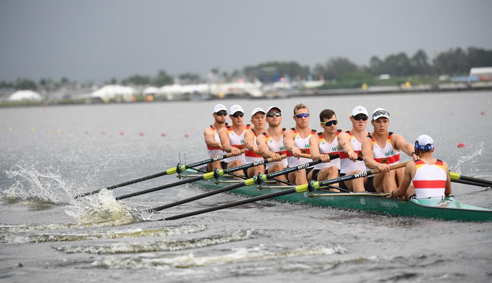 Deutscher U23-Achter in Sarasota auf Platz 5