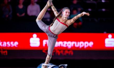 Alina Roß Vierte bei den DM Voltigieren in Alsfeld