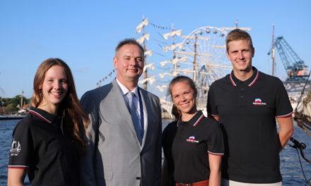 Team vom Rostocker Regatta Verein segelt beim Baltic Sail Nations Cup