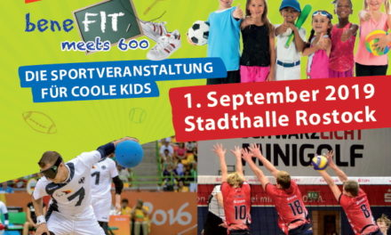 """beneFIT meets 600"" am 1. September in der Stadthalle"