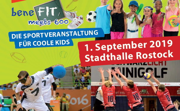 """beneFIT meets 600"" am 1. September in der Stadthalle"