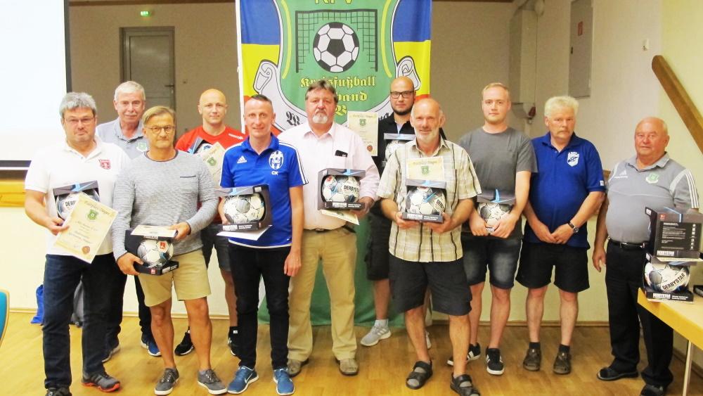 Die Fairplay-Sieger der vergangenen Saison   Fußball in Westmecklenburg - Foto: KFV WM
