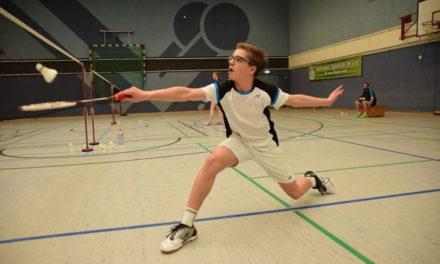 Luca Wiechmann bei der 3. Deutschen Rangliste U15