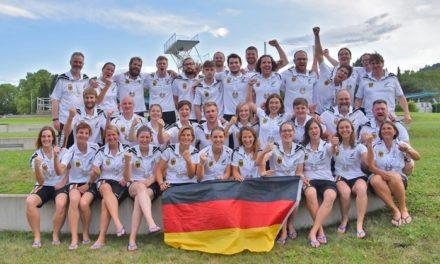 Unterwasser-Rugby-WM: Silber und Bronze!
