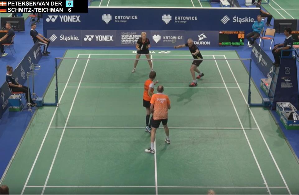 Badminton - Petra Teichmann und Jürgen Schmitz-Foster gewannen in Katowice WM-Silber - Sport in Mecklenburg-Vorpommern