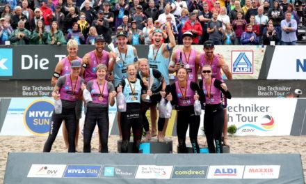 Poniewaz-Zwillinge holen Rekordsieg in Kühlungsborn
