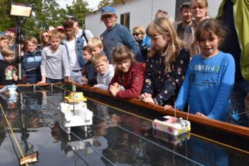 Erstes Greifswalder Solarbootrennen in Greifswald war voller Erfolg. Foto: Stadt Greifswald