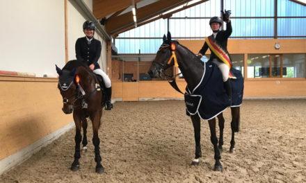 Anna Madlen Horn ist Amateur-Meisterin und Lisa Rohde Vize