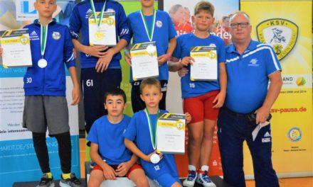 Ringer kommen mit 4 Medaillen aus dem Vogtland zurück