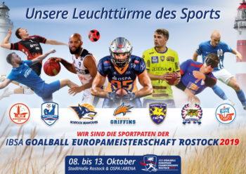 Rostocks sportliche Leuchttürme Hansa, Empor, Seawolves & Co sind EM-Paten der Goalball-EM