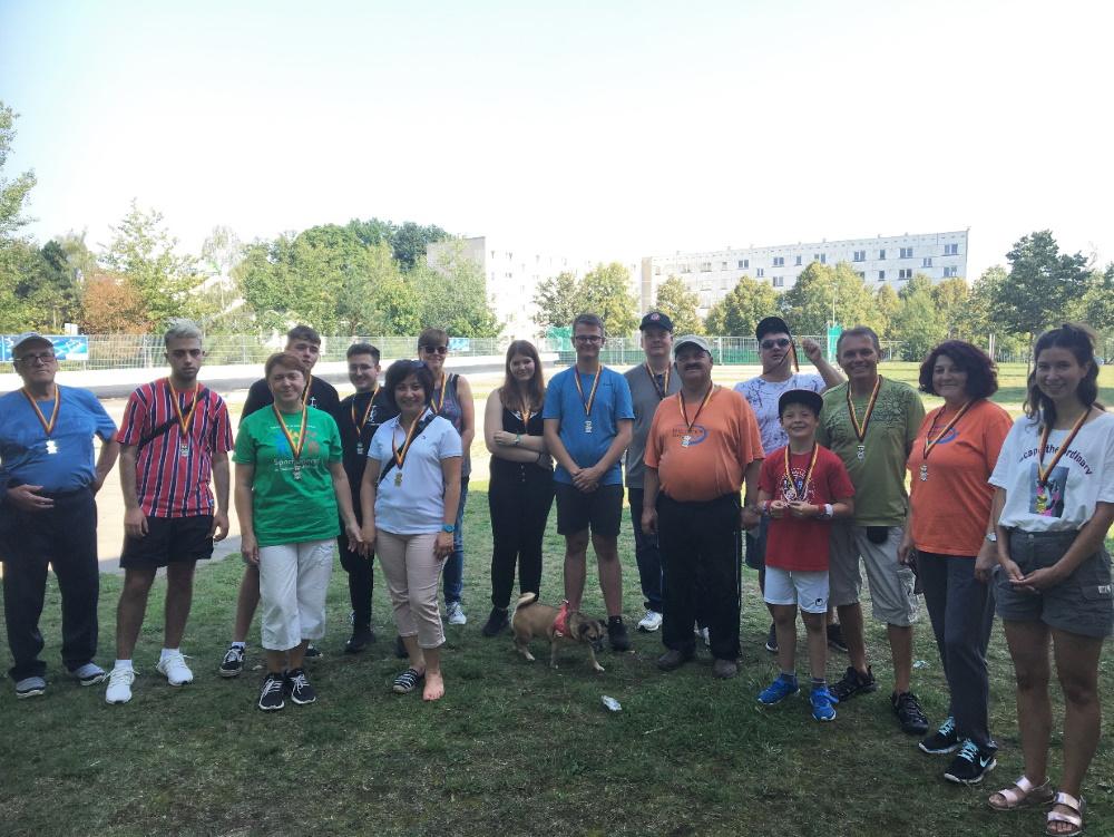 """Der """"Dreescher Pokal"""" im Schweriner Gorodki-Park wurde zum 5. Mal vom Verein für Nichttraditionelle Sportarten ausgerichtet"""