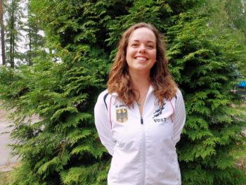 Lisa Dethloff aus Rostock - Europameisterin im Orientierungstauchen. Foto: VDST