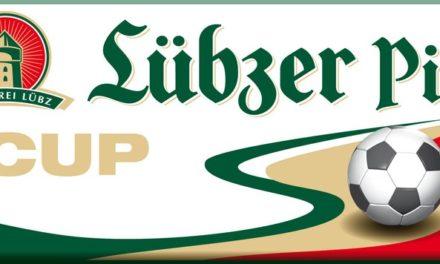 2. Runde im Lübzer Pils Cup ausgelost