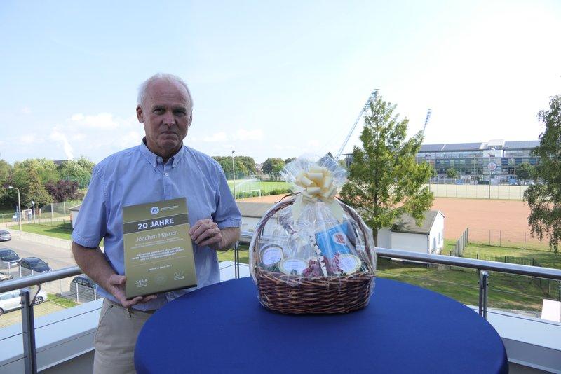Kontinuität an der Verbandsspitze:  LFV-Präsident Joachim Masuch feiert 20-jähriges Jubiläum